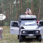 Bivouac en Russie