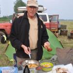 Le bivouac n'empêche pas la bonne cuisinne