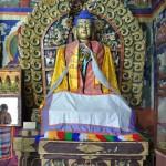 A l'intérieur d'un des 3 temples