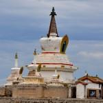 Stupa d'or ou Bodhi Suburgan