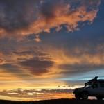 Coucher de soleil en Altaï