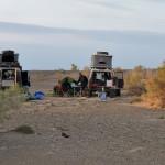 Bivouac dans le désert de Gobi